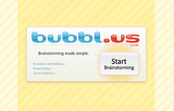 Bubbl.us i undervisningen